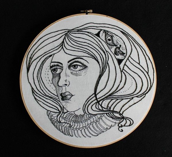 Lindsey Windland - Persistence - Hand Embroidery