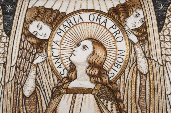 Sancta Maria - Hand Embroidery from the Royal School of Needlework