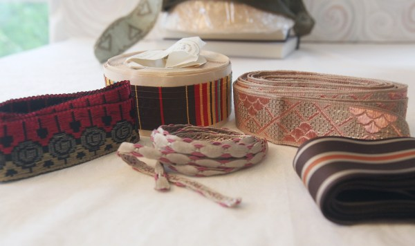 vintage millinery ribbon