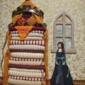 Princess & the Pea by RSN Future Tutor Graduate, Deborah Wilding, Stumpwork