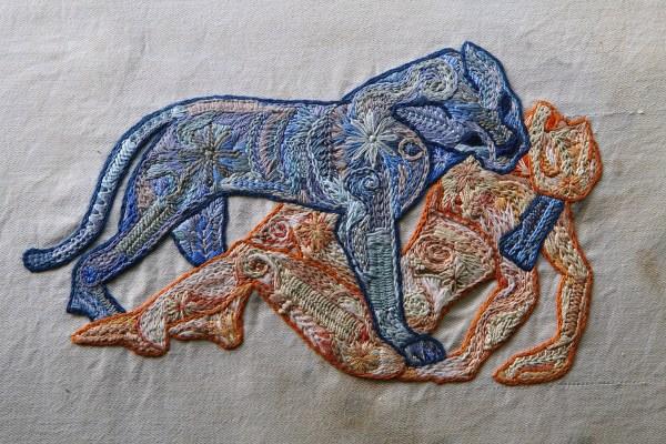Eran Inbar - Love Bites - Hand Embroidery
