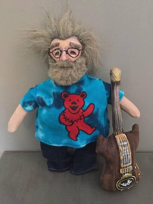 Foxy Blue's Jerry Garcia Plush