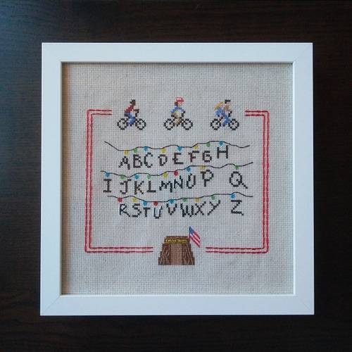 RandomlyGenerated's Stranger Things Cross Stitch
