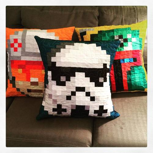 CandyCoatedQuilts' Star Wars Pillows