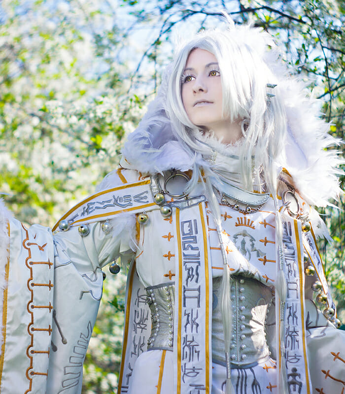 The Machine Embroidered Cosplay of Adelhaid