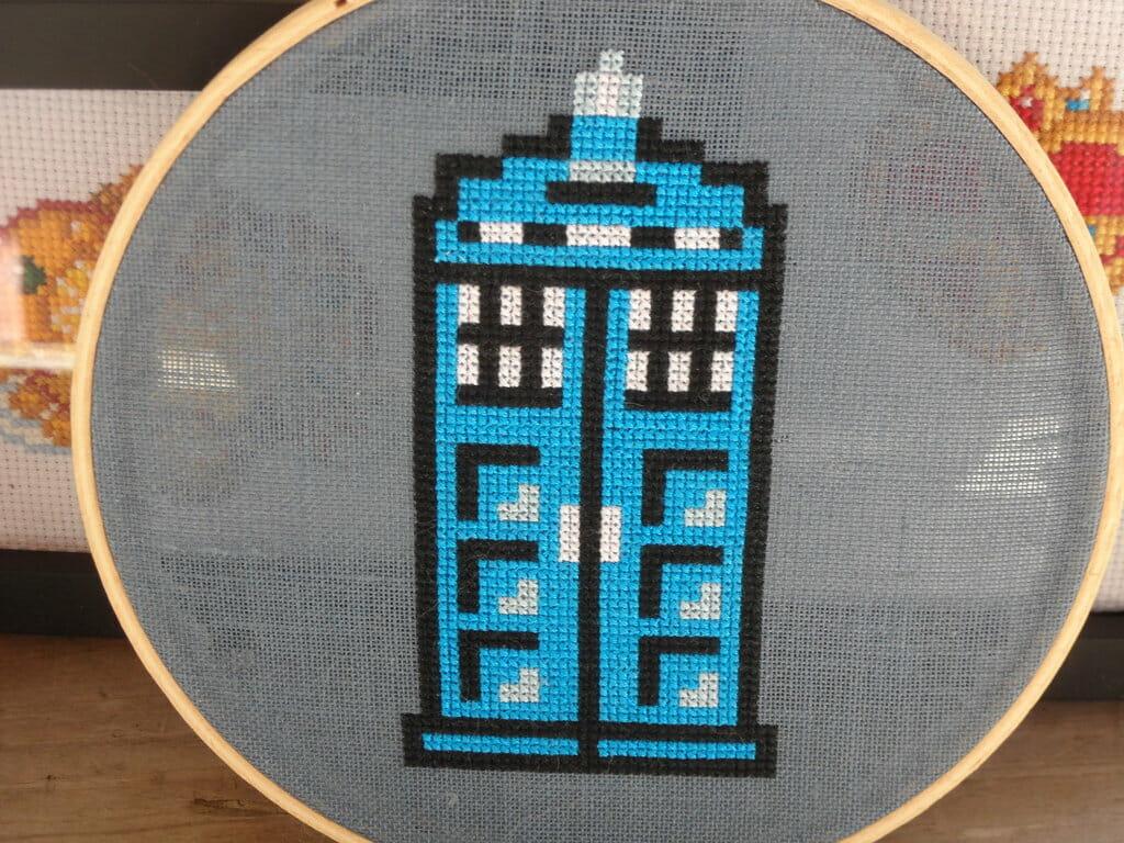 Stitchgasm – Carand88's TARDIS Cross Stitch