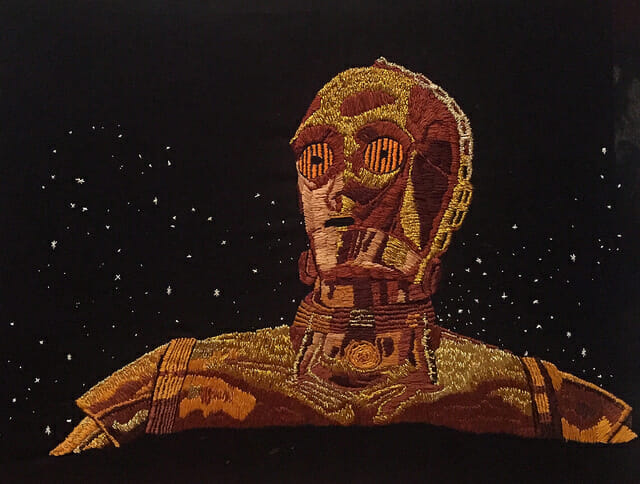 Stitchgasm – William Schaff's C-3PO