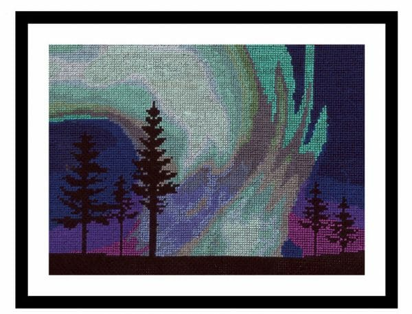 DMC Embroidery Collection 2017 - Norther Lights Design