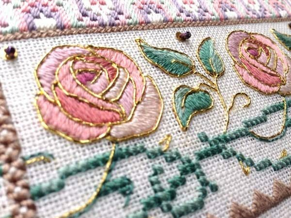 Using a variety of stitches and threads in a project makes the design more eye-catching, interesting, and dimensional. Just take that extra step of making sure your stitches look good, and you will reach heights of gorgeousness.