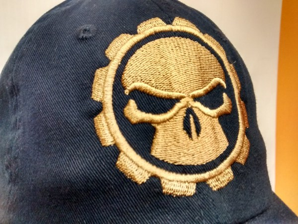 Erich Campbell - Single Color Gear and Skull Embroidered Cap