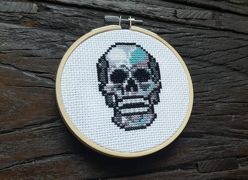 Son of a Cross Stitch - Skull
