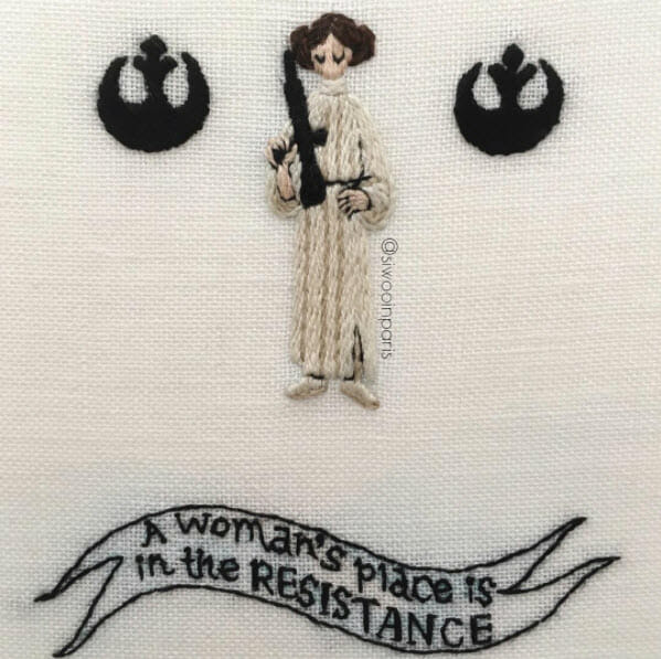Too Cute Tuesday – Leia Organa by siwooinparis