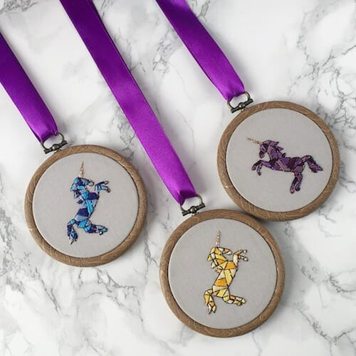 Hatchling Makes - Unicorn Hoops