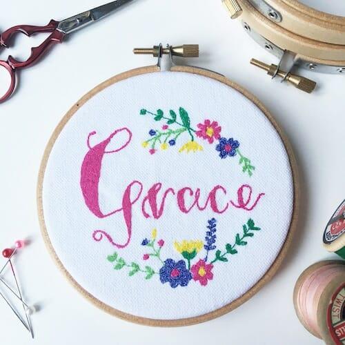 Thread Friends - Grace Hoop