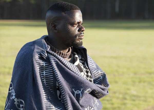 W'Kabi (Daniel Kaluuya) in the film Black Panther