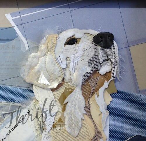 Thrift Design - White Lab close up