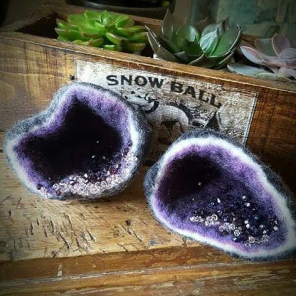 Amethyst Geode (artist unknown)