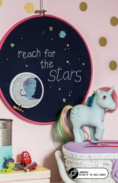 Bobo Stitch's Reach for the Stars design
