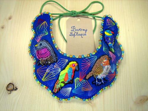 Barney Laflaque - Birds Necklace
