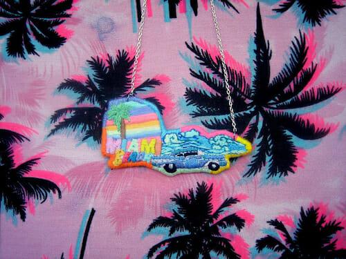 Barney Laflaque - Miami Beach Necklace