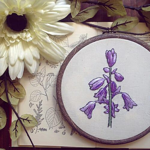 Pengelly Crafts - Bluebell Hoop