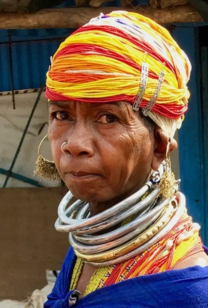 Orissa tribal woman, Eat Your Heart Out Tours