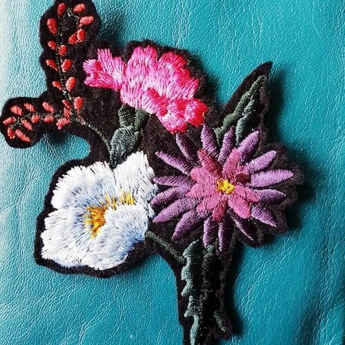 Embroidery by KG Design - Floral Bouquet Patch