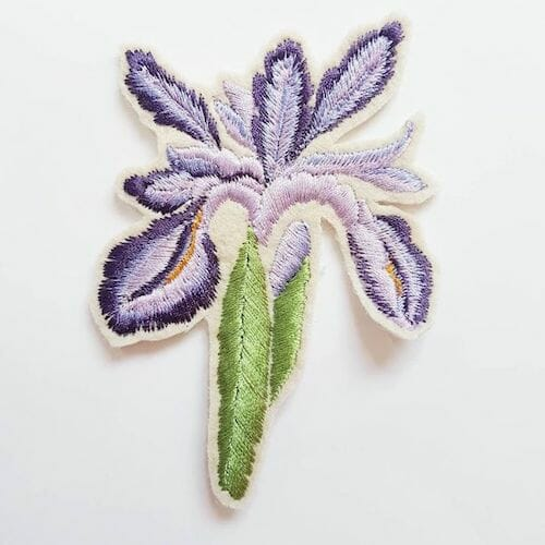 Embroidery by KG Design - Iris Patch