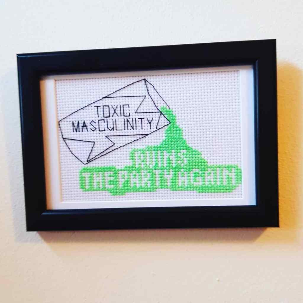 My Favorite Murder cross stitch by Creative Workshops