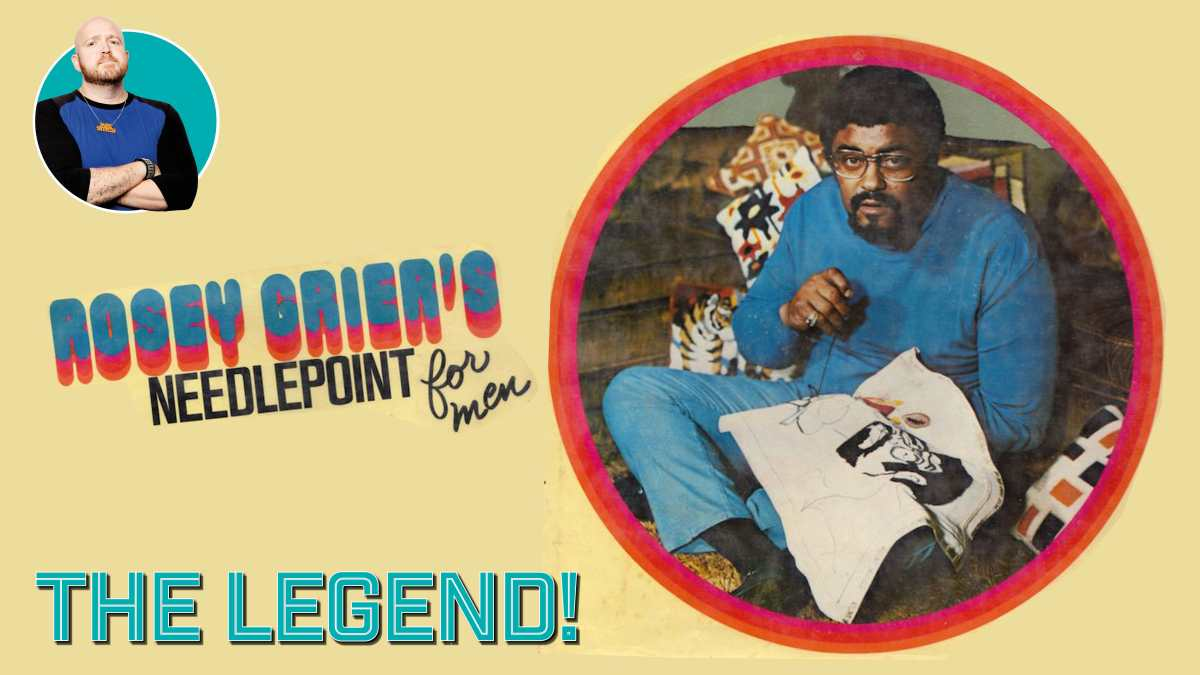 Book Review – Rosey Grier's Needlepoint for Men