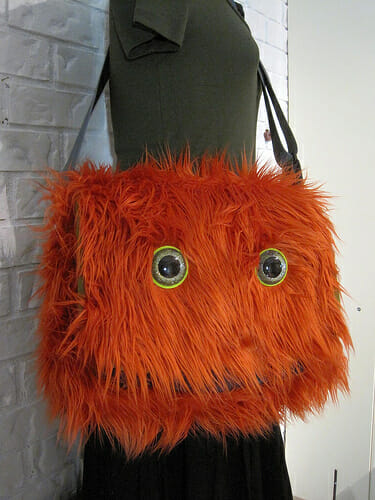 Monstrous Messenger Bag