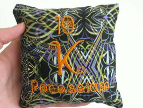 Alyse Anderson - Potassium Elements Pillow