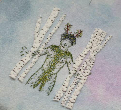Adam Pritchett - Ghillie Dhu Embroidery