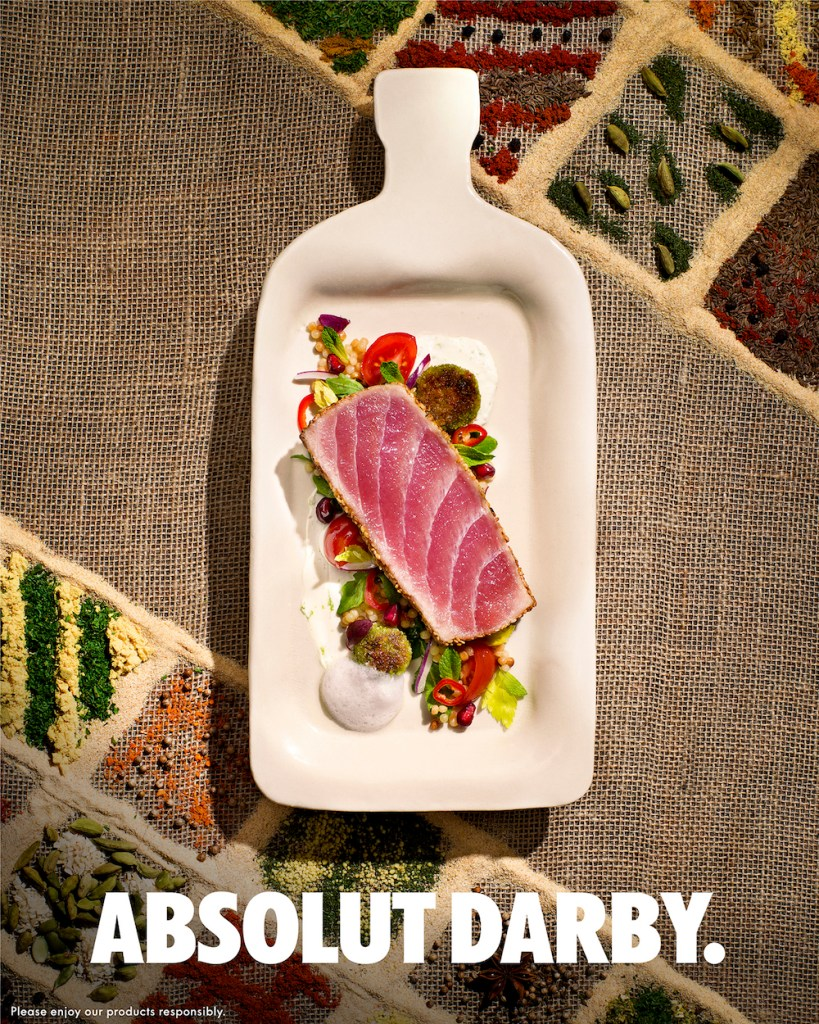 Darby's project with Absolut Vodka