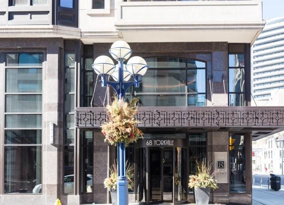 The Regency Condo 68 Yorkville Avenue Toronto