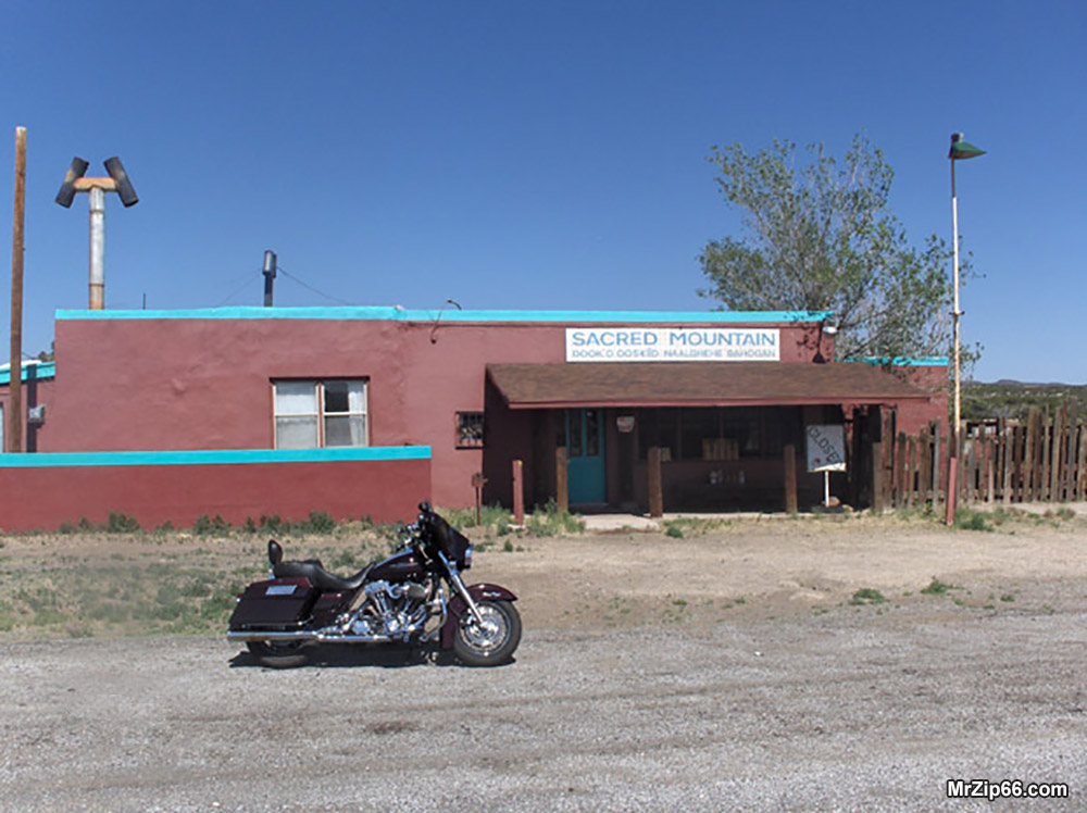 Easy Rider Film Locations - Sacred Mountain Gas Station