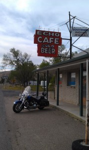 The Echo Cafe, Echo Utah.  Cold Beer