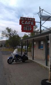 The Echo Cafe, Echo Utah.  Cold Beer