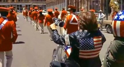 Easy Rider Parade Scene Las Vegas New Mexico 2
