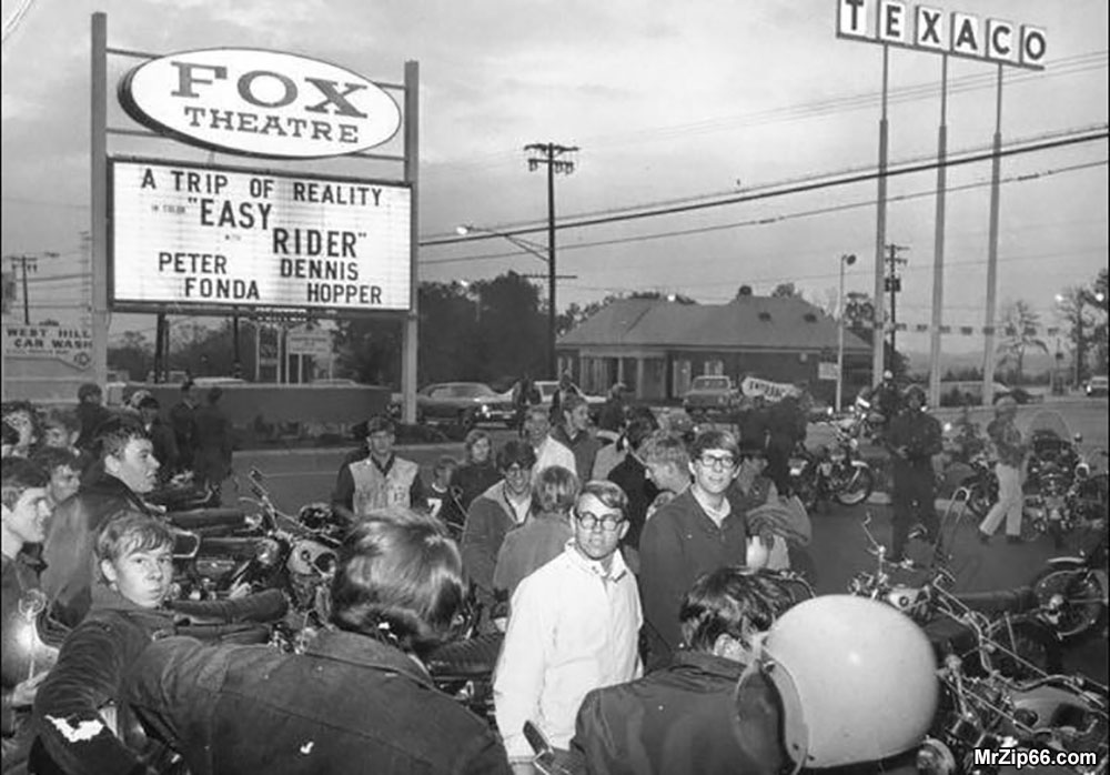 Easy Rider Movie Premier in Tennesee