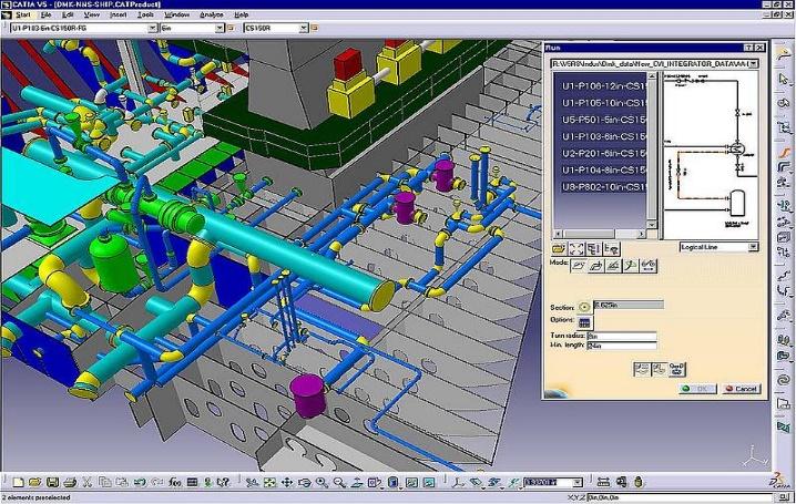 CATIA mexico simulación 3d de fabricación asistida por ordenador