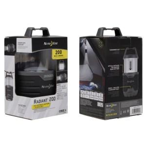 NiteIze Radiant 200 Collapsible Lantern | Outdoorzubehör | MS - Shooting