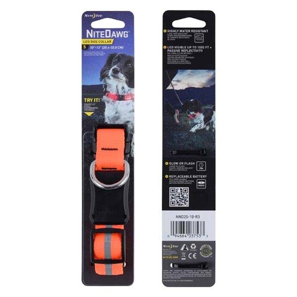 NiteDawg LED Dog Collar Small | Hundezubehör | MS - Shooting