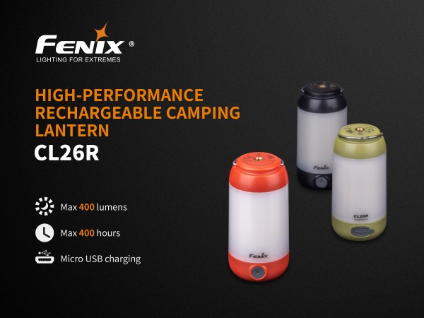 Fenix CL26R Camping Laterne | Camping Laterne | MS - Shooting