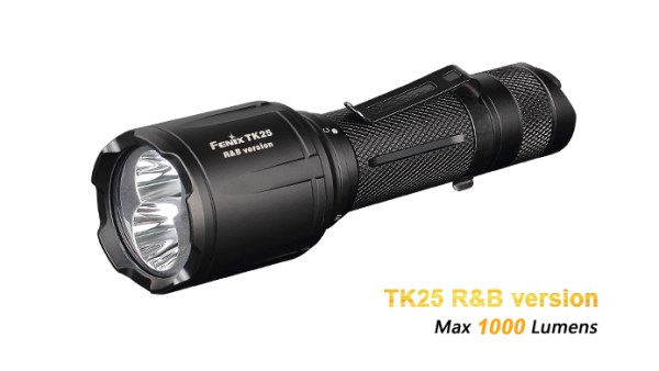 Fenix TK25 Red&Blue Light | Taschenlampen | MS - Shooting