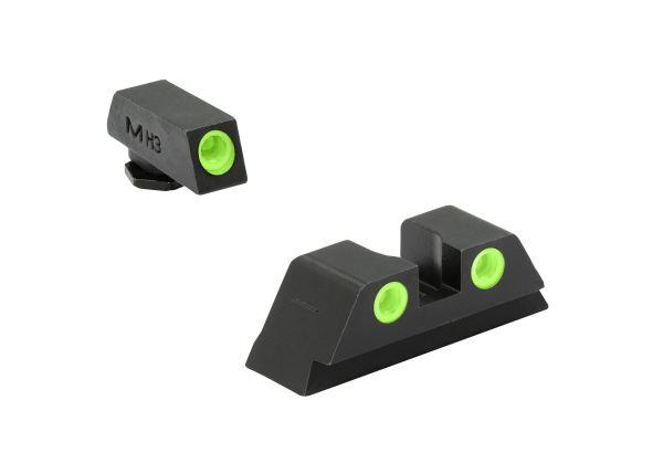 MEPROLIGHT GLOCK Tritium Sight   Visierungen   MS - Shooting