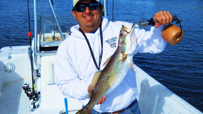 January Inshore Fishing For Speckled Trout At Mississippi S Gulf Coast