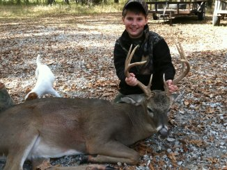 You can put a kid on his first buck this month, if you understand the importance of concealment.
