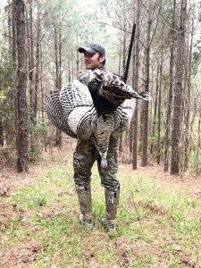 Bo Brown is having a stellar year, and it got even better when he killed this white gobbler in Copiah County.