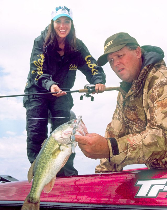 According to Paul Elias, if for some reason fishing the shallow water in February isn't paying off in bass, fish the rocks.